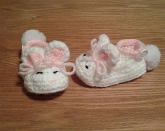 Animal baby shoes, Easter baby shoes, Bunny shoes, Elephant shoes, Frog Shoes, duck shoes, pig shoes