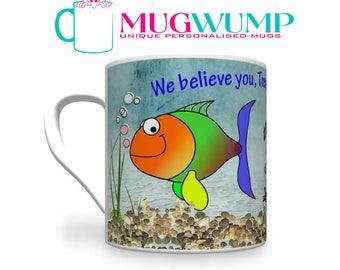 Personalised Fishing Birthday Mug. Fisherman's Mug. Angler's Birthday Mug. Gift For Angler.Fishing Mug. Fishing Gift.