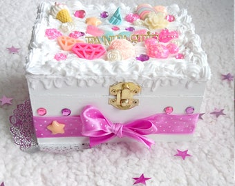 Jewelry box ~ storage box ~ Decoden ~ Kawaii