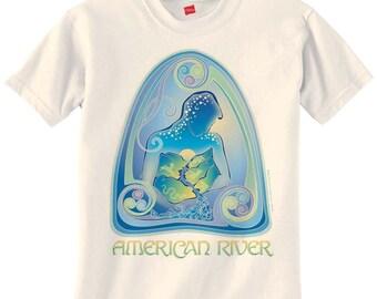 River Goddess American River Tshirt