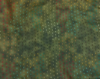 Michael Miller Fabrics Alloy in Olive 1/2 Yard