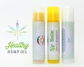 Hemp LIP BALM Weed lover gift pure Lip Balm Unique gift for her gift for him dope natural lip balms Organic lip balm cocoa lip butter Stoner