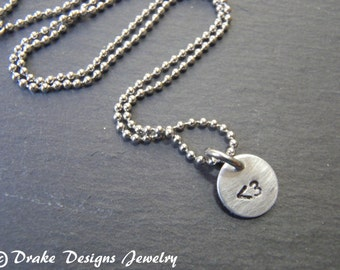 less than three necklace