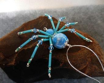 Christmas spider, beaded spider, Christmas spider legend, Christmas Ornament, Halloween, Beaded Decor, Beaded Animal, Home Decor, Spider