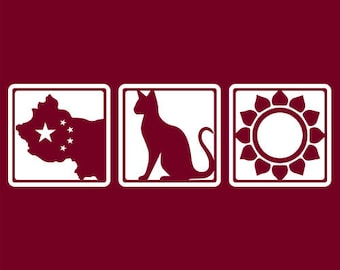 Grateful Dead China Cat Sunflower White Border   Men's
