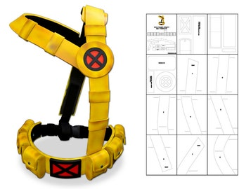 Template for 90's Cyclops Utility Belt