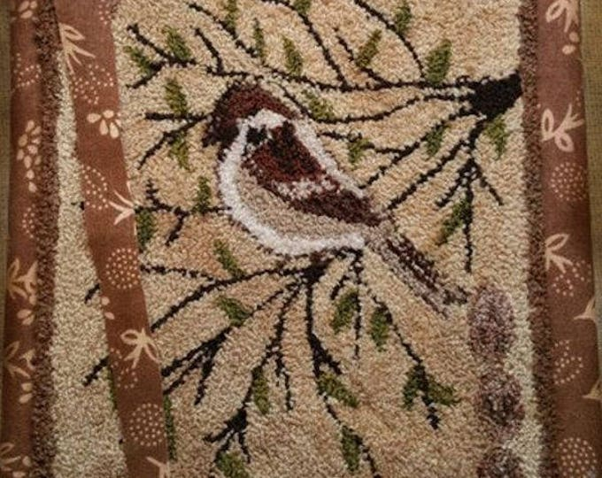 Pattern: Sparrow Garden Journal Punch Needle Packet by Kanikis Prims and Whims