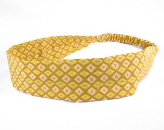 """Fabric Headband - Riviera - Pick your size - fit toddlers to adults - 1-1/2"""" wide"""