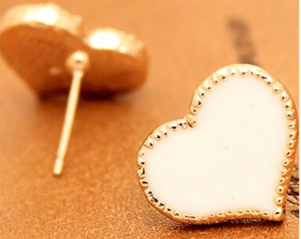 Bijoux Stud Earrings For Women Retro Exquisite Lovely Lady Fashion