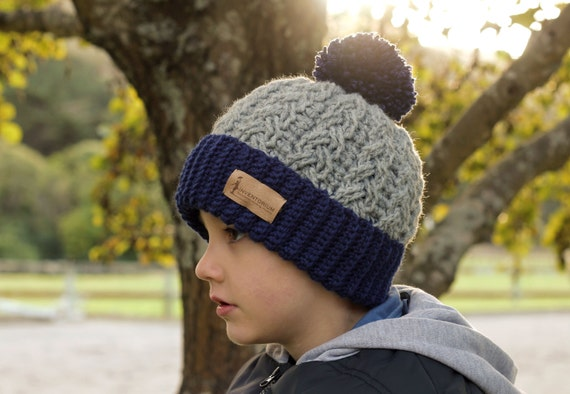 Childrens Cable Knit Hat Patterns Hat