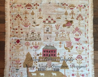 Mary Barres Sampler *PATTERN*