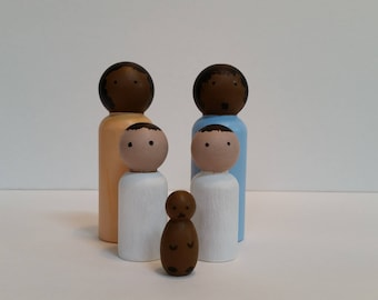 Dollhouse people-Family of five