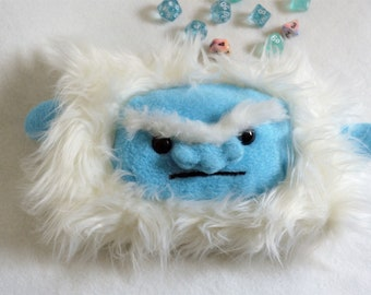 Yeti / Abominable Snowman Dice Bag