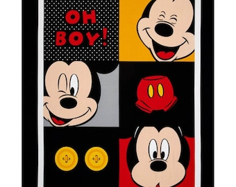 "Mickey Oh Boy 36"" x 44"" Panel 15016 from Springs Creative by the panel"
