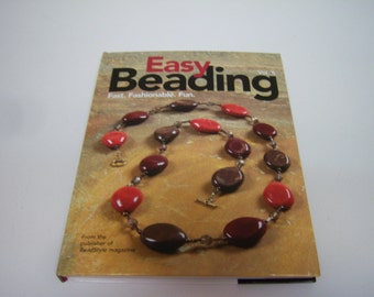 Easy Beading Book, 2009 Edition, Beading Vol. 5, Hardback Book, Kalmbach Books, Best Of Bead Style Magazines, Great Instructions, Used??