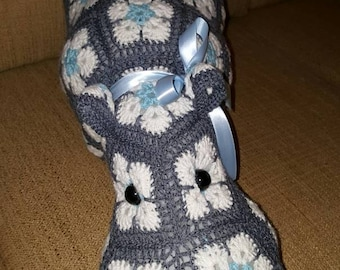 Crochet Hippopotamus The Hippo, Heidibears Design