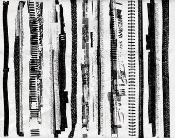 Border Overlays - Inked Edges - Grunge Border Clip Art - Digital Stamps - PNG + Photoshop Brushes - Distressed Edge - Frame
