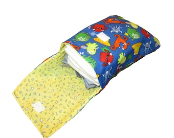 Diaper and Wipe Pouch