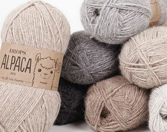 DROPS Alpaca An all time favorite made purely from soft alpaca 50 g = approx 167 m  5 ply  Drops Retailer