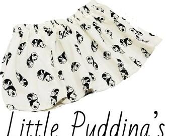 Panda Chic Girls Skirt