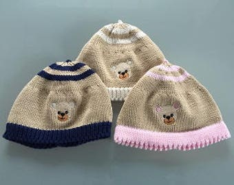 Baby Beanie Hat bear