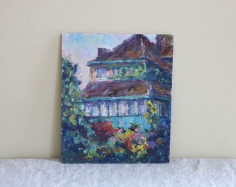 original painting - Giverny, France