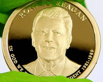 2016 S Ronald Reagan 40th President Silver Coin