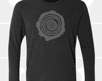 Tree Rings - Unisex Long Sleeve Shirt