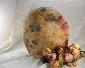 Tea Cozy Romantic Damask Cabbage Rose Shabby Cottage Chic