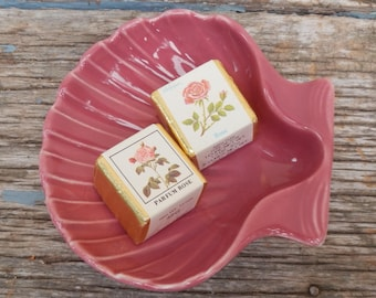 Cute Hall National Brotherhood of Operative Potters Shell Soap Dish!