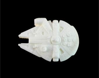 Soap: Millennium Falcon Star Wars Ship Soap, You Choose Color & Scent