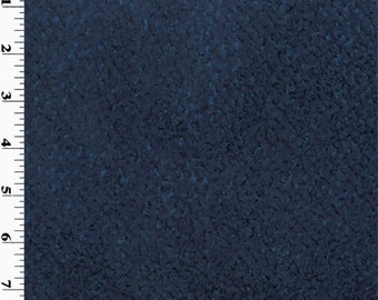 Polartec Chenille Fleece Blue, Fabric By The Yard