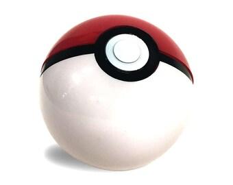 Pokemon Pokeball Working Toy Prop Opens Real Trainer Poke Ball Cosplay Ash Ketchum Pikachu Original Red White Halloween Costume Gift Quality