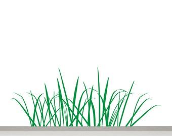Grass Wall Decal border, Grass Decal, Grass Wall Art, Grass Wall Sticker, Grass Wall Border, Grass Wall Decals, Grass Stickers for Nursery