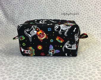 Day of the Dead Dog Bag