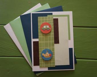 Handmade Boy/Baby Shower Card
