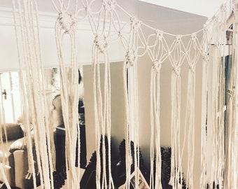 Banner//Bunting//Macrame Wall Hanging//Heart Bunting