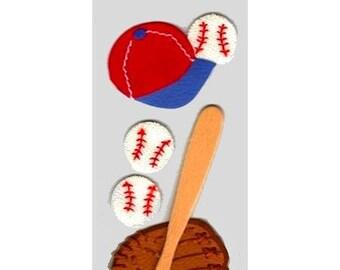 Baseball Jolee's creative cardmaking scrapbooking embellishments
