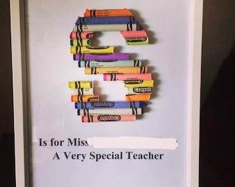 Crayon Art Teacher Gifts