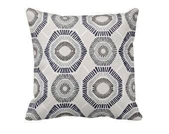 Navy Blue Pillow Cover Navy Throw Pillow Cover Grey Pillows Navy Pillows Decorative Pillows for Couch Pillows Geometric Pillows Toss Pillow