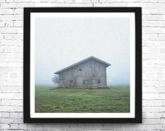 Barn Art Print, Barn Photography, Rustic Home Decor, Modern Art Print, Barn Wall Art, Farm Decor, Wooden Barn Print, Country Decor, Barn Art