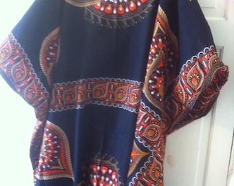 Kaftan long maxi tunic plus size up to size 30