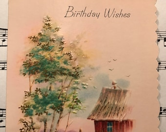 Vintage Birthday Cards For Him ~ Vintage birthday card for him etsy