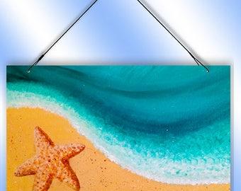 Beach House Welcome Decorative Window Sun Catcher from Redeye Laserworks