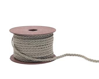 Linen Rope Braided 0,5 cm width, 3meters
