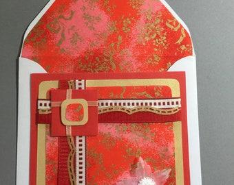 Wedding Card - Oriental Flair