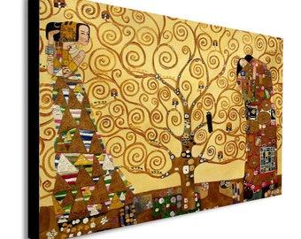 Tree Of Life Gustav Klimt Canvas Wall Art Print - Various Sizes