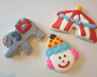 Circus Sugar Cookies