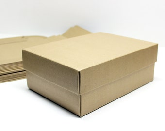 Set of 10 Kraft Box / Packaging