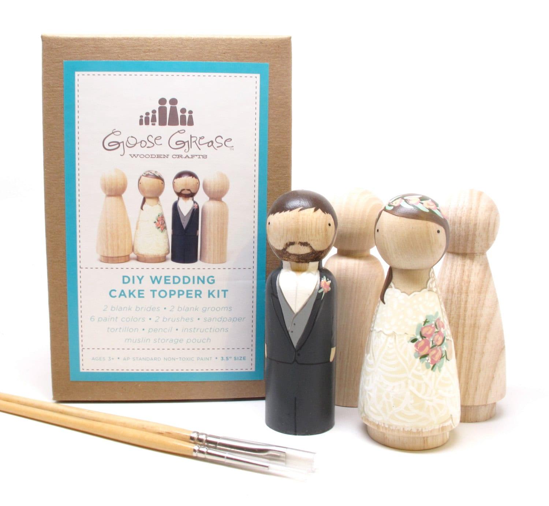 Cake topper wedding cake topper wooden cake topper kit extra zoom solutioingenieria Gallery
